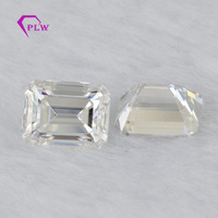 Provence jewelry lab grown Loose moissanite 1.1 carat 5*7 mm D color emerald cut for bracelet ring chain earring