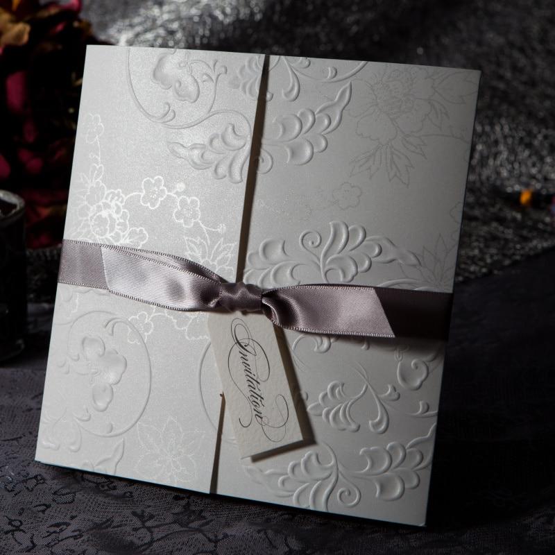Elegant Embossed Free Personalized & Customized Printing