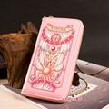 Cosplay Japan Anime Card Captor Sakura Kinomoto Star PU Handbag Women Wallet Purse Phone Bag Gift Toy New 1pcs free shipping