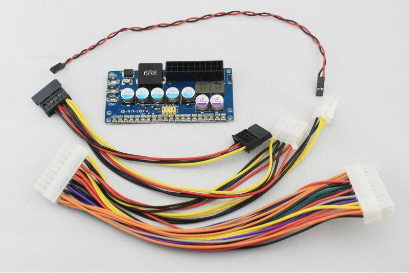 PICO BOX X5-ATX-180 DC ATX 8V ~ 24V Wide Range Input 150W ~ 180W ITPS PSU Car Auto PC Computer Power
