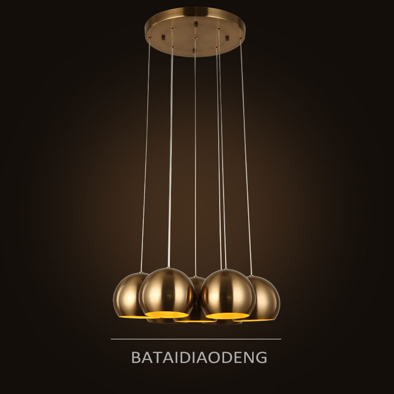Vintage pendant lamp 7 heads industrial cage lighting modern classic vintage pendant lamp 7 heads industrial cage lighting modern classic fashion bronze suspension luminaire industrie hanglampen in pendant lights from lights aloadofball Gallery