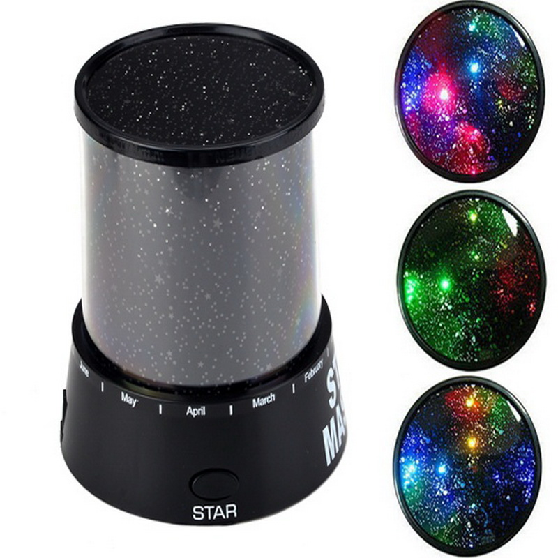 Romantic Sky Star Cosmos Master Projector Lamp LED Starry Night Light Gift for Kid