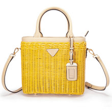2019 New matching rattan handbags bag portable messenger fashion capacity high quality bags