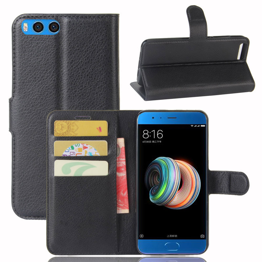 Fashion Wallet PU Leather Case Cover For Xiaomi Note 3 Plus Flip Protective Phone Back Shell With Card Holders