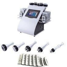 CE 6 in 1 new cavitation rf vacuum slimming machine
