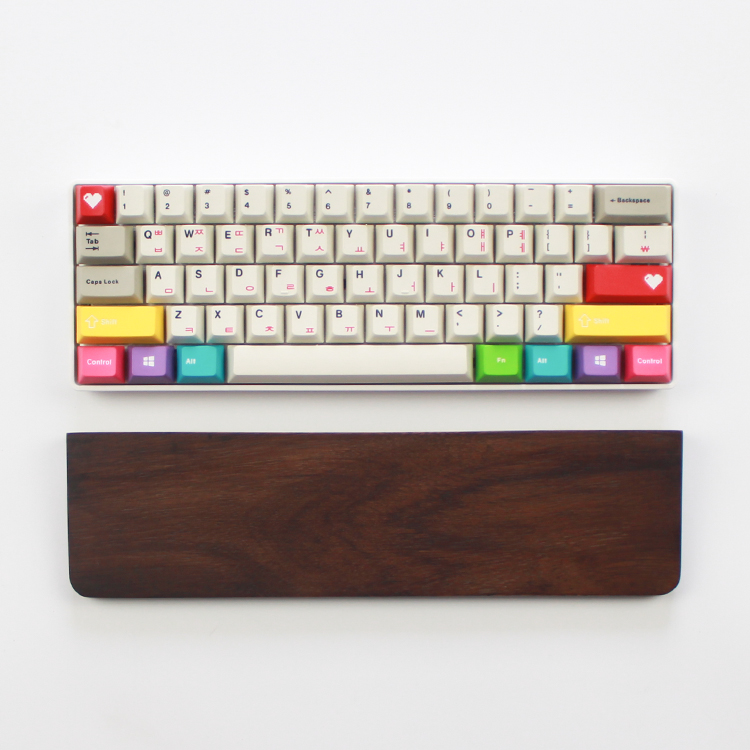 GH60 POKER Rainbow Keycaps English Korean Cherry MX Switches DIY Gaming Mechanical Keyboard