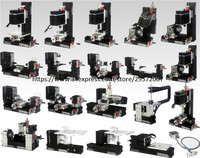 60W BigPower 16 in 1 MINI Lathe with Bow Arm, 60W,12000rpm Mini Bow arm 16in1 Metal lathe Machine