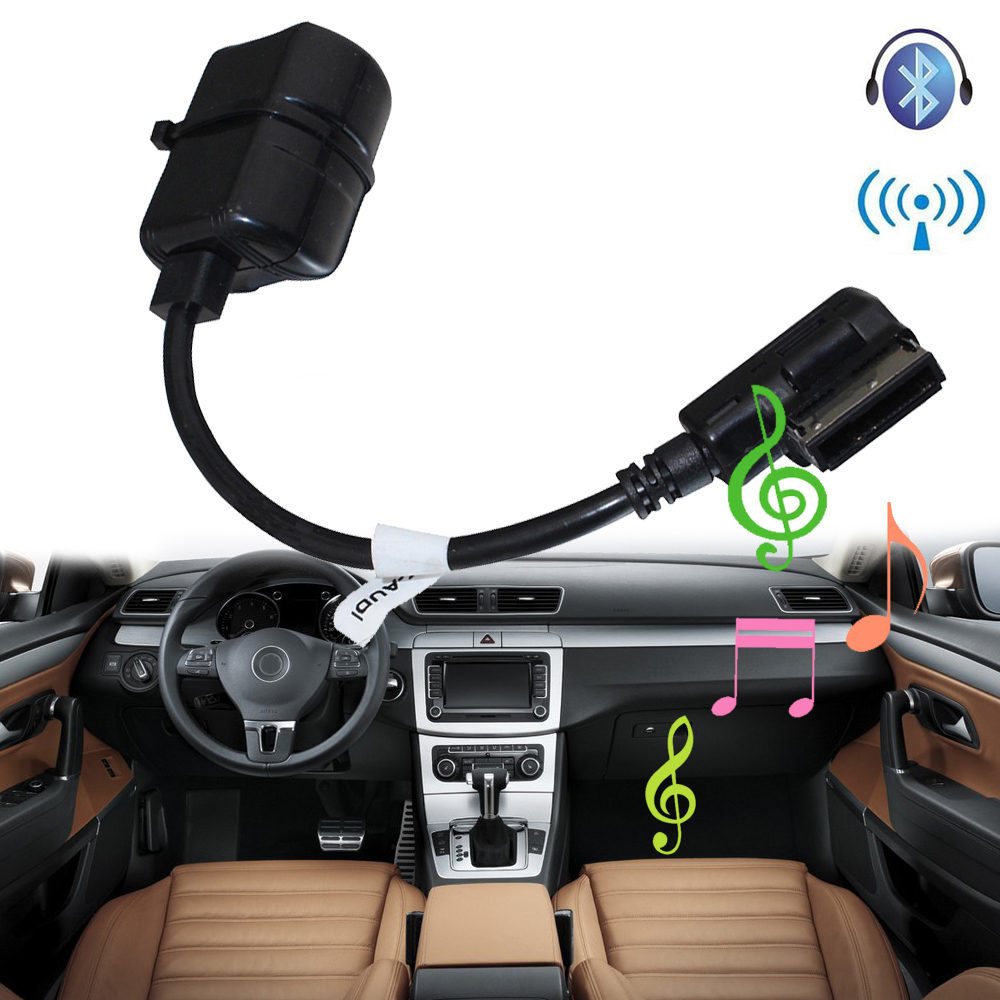 Car Bluetooth Module For Audi Vw Radio Stereo Aux Cable: SITAILE Car Bluetooth Wireless Module For Audi, Volkswagen