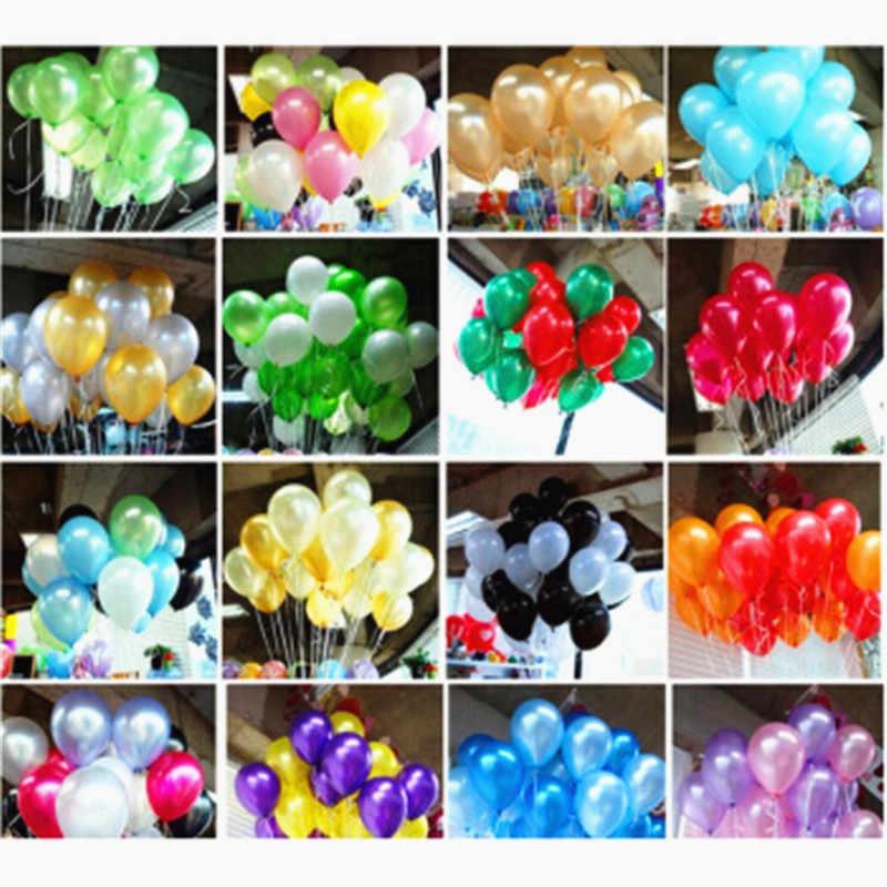 10 шт 12 дюймов 2,2 г латексные мульти цветные воздушные шары День рождения украшения детское платье для свадьбы с гелием белые воздушные шары надувные воздушные шары