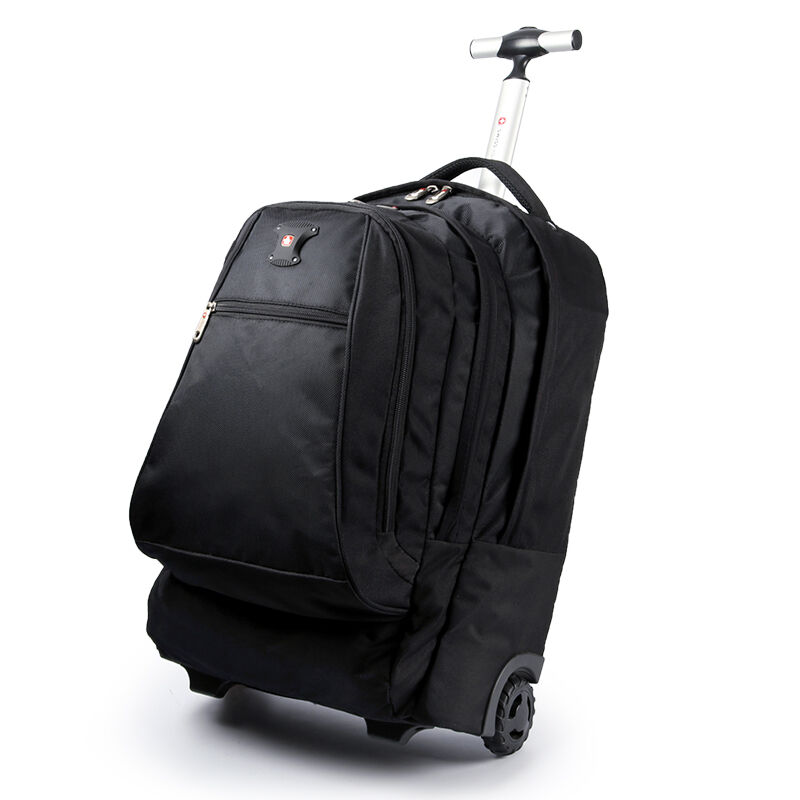 Letrend Men Business Travel Duffle 20 inch Carry On Suitcase Wheels Computer Backpack Rolling Luggage Casters Trolley School Bag bopai duffle bag lightweight luggage waterproof travel bags for men business best carry on luggage tote weekend travel bag