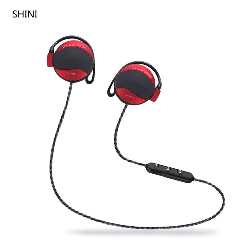 2017 Più Nuovo SHINI SN Cuffia Senza Fili Auricolare Bluetooth Fone de ouvido Per Il Telefono Neckband Écouteur Cuffie Bluetooth V4.1