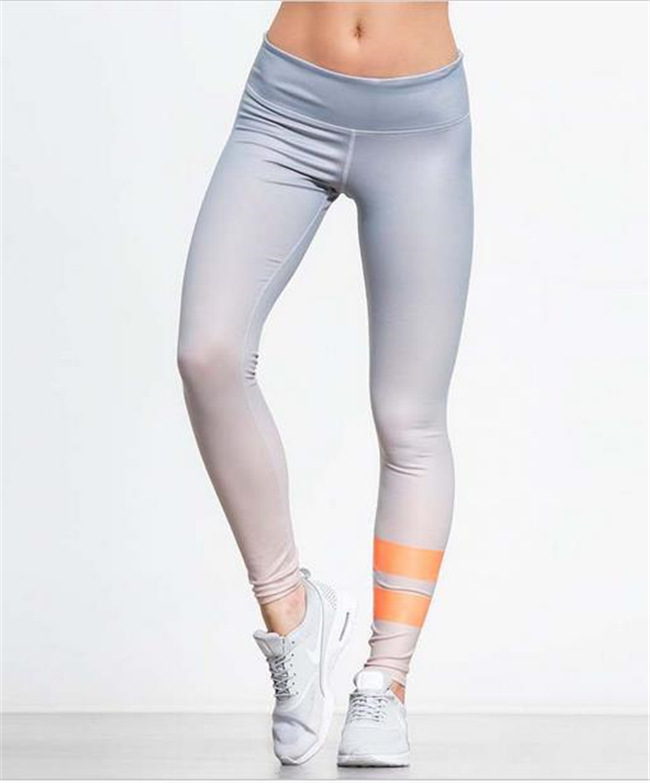 Women's Leggings Gradual Color 3D printed harajuku gothic sexy high waist push up fitness workout leggings women pants