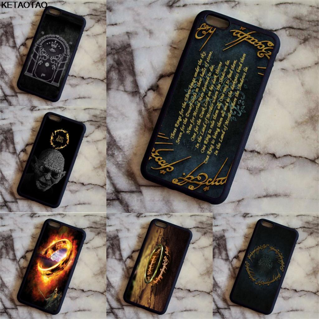 KETAOTAO The Lord of the Rings Hobbit Gollum Phone Cases for iPhone 4S 5C SE 5 5S 6 6S 7 ...