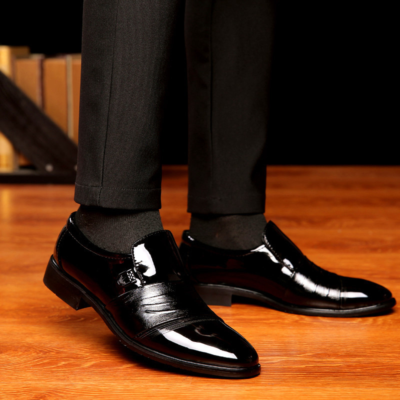 Vestem 2018 Homens Ms1847 Calçados Sapatos Marca Macios Primavera Negócios Masculinos Moda Lottieholly Outono Couro Ms1847bl De Se wwqSgC0