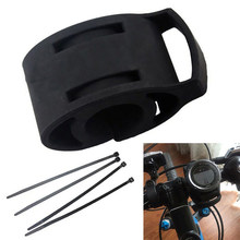 Buy Quick Release Motorcycle Bike MTB car Handlebar Silicone Phone Mount Bracket for Garmin 410 910XT 610 Fenix 3 D2 GPS Watch deal