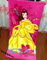 150 72cm Beautiful Princess Bath Body Towel Soft Cut Velvet Cotton Swim Spa Travel Beach Towels