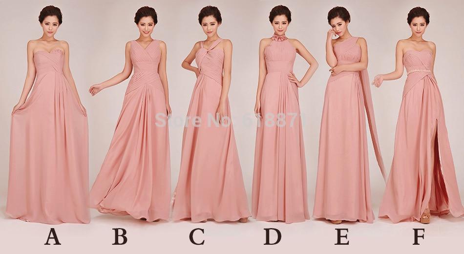 5 Different Kinds of Maid Vestido Dress Bridesmaid Dresses 2014 ...