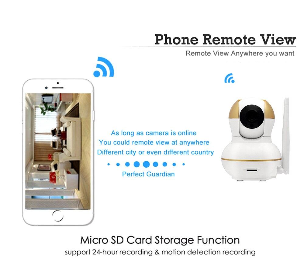 Wistino Alarm Systems Security WIFI IP Camera Security System Video Monitor Surveillance Camera Wireless Home Alarm System With Sensor Alarm Wifi kit Smart Home Camera (10)