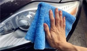 """Image 5 - 50 pacote 450gsm edgeless nenhuma toalha de microfibra do risco 16 """"x16"""" superior carro polimento, lustrando detalhando toalha"""