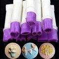 10 cm 10 flower tipo borda do laço clipe fondant biscuit cortador de decoração sugarcraft ferramenta pastecake bolinho queque acessório