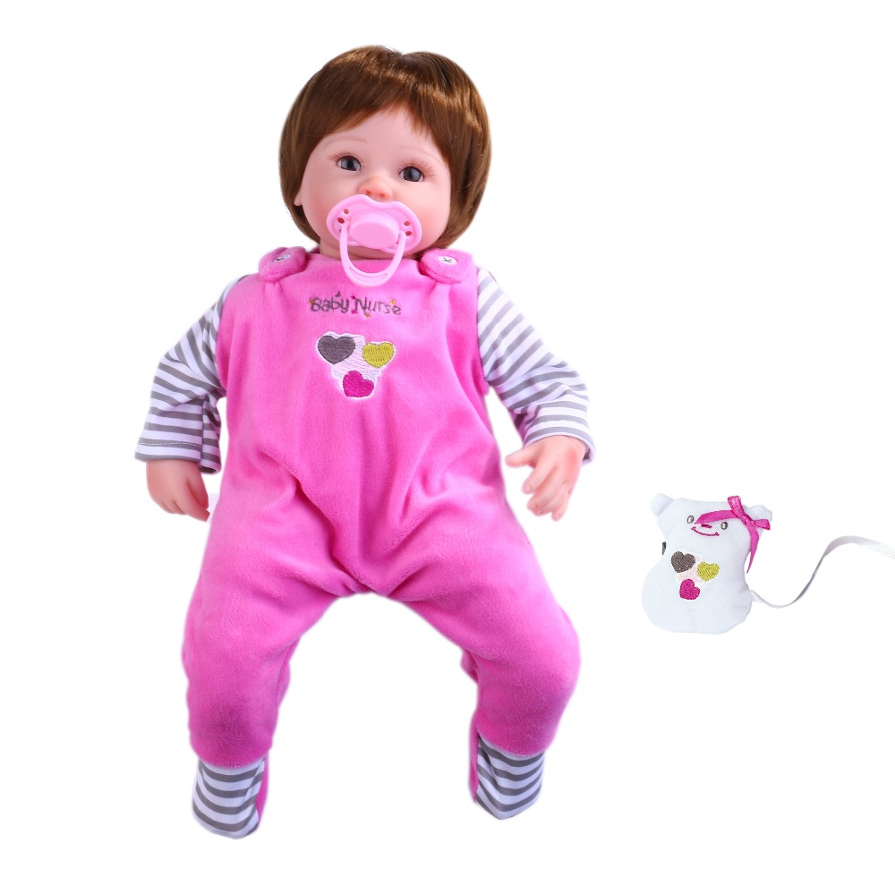 Kawaii baby dolls  Silicone kids Playmate toys for girls Birthday gift high quality bebe doll reborn baby born toys for nano rc robot open source maker obstacle avoidance diy humanity playmate 3d toys for otto kids best toys
