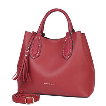Miyaco New 2018 Elegant Handbags Women Leather Shoulder Bag Designer Luxury Women Bags Crossbody Bag Bucket Hand Bag Red - DISCOUNT ITEM  0 OFF All Category