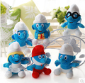 Cute 6pcs 20cm Plush toys blue benben animation film and television dolls
