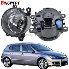 2 adet araba ışık kaynakları halojen sis lambaları araba styling sis farları 1 takım için Opel Astra G H 1998  2010