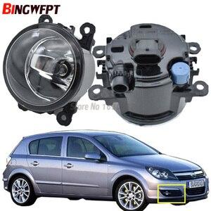 Image 1 - 2PCS Car light sources Halogen Fog Lamps Car styling Fog Lights 1SET For Opel Astra G H 1998 2010