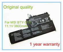 Original BTY-S1E Battery For Slider S20 Tablet PC 11.1V 3800mAh/42.18WH Free shipping