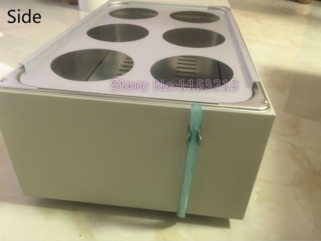 Baño de agua HH 6/Olla de baño de doble fila de 6 agujeros/termostato Digital baño de agua/caldera para baño de agua eléctrica - 5