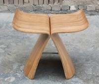 Sori Yanagi butterfly stool, plywood stool,butterfly chair