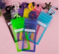 Wholesale PVC Transparent Surfing Bags Cell Phone Waterproof Bag Swimming drifting bags