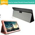 Virar casos suporte para teclast tbook16s/tbook tbook16 potência alta qualidade pu leather case para teclast 16 s/tbook 16 poder + 2 presentes