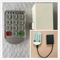 Free shipping Good quality Silver Metal Digital Electronic Password keypad number Cabinet Code locks Hot Sale With Low Price