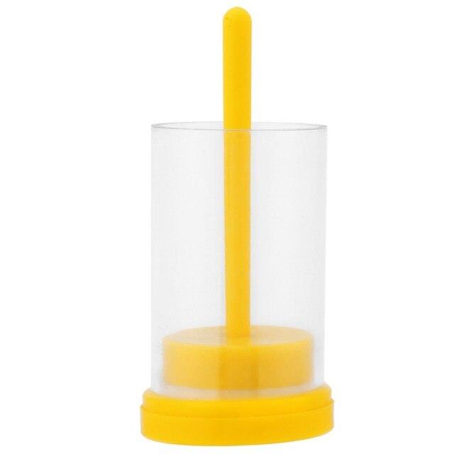 1 pz Queen Ape Marker Marcatura Gabbia della Bottiglia & Soft Plunger Apicoltura