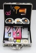 New Professional High Quality  False Eyelash Eye Lashes Extension Full Set Kits with Case