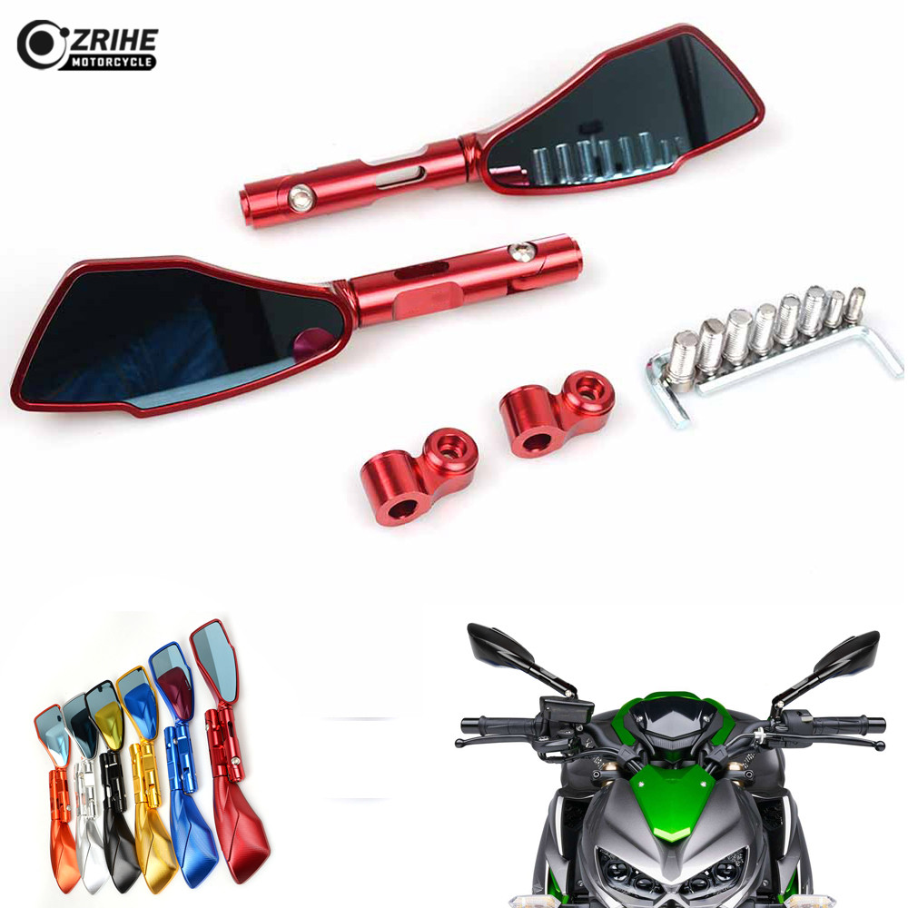 Motorcycle Rearview Mirrors Glass Rear View Side Mirror accessories For Aprilia RSV MILLE RSV4 1000 R RR Factory APRC ABS