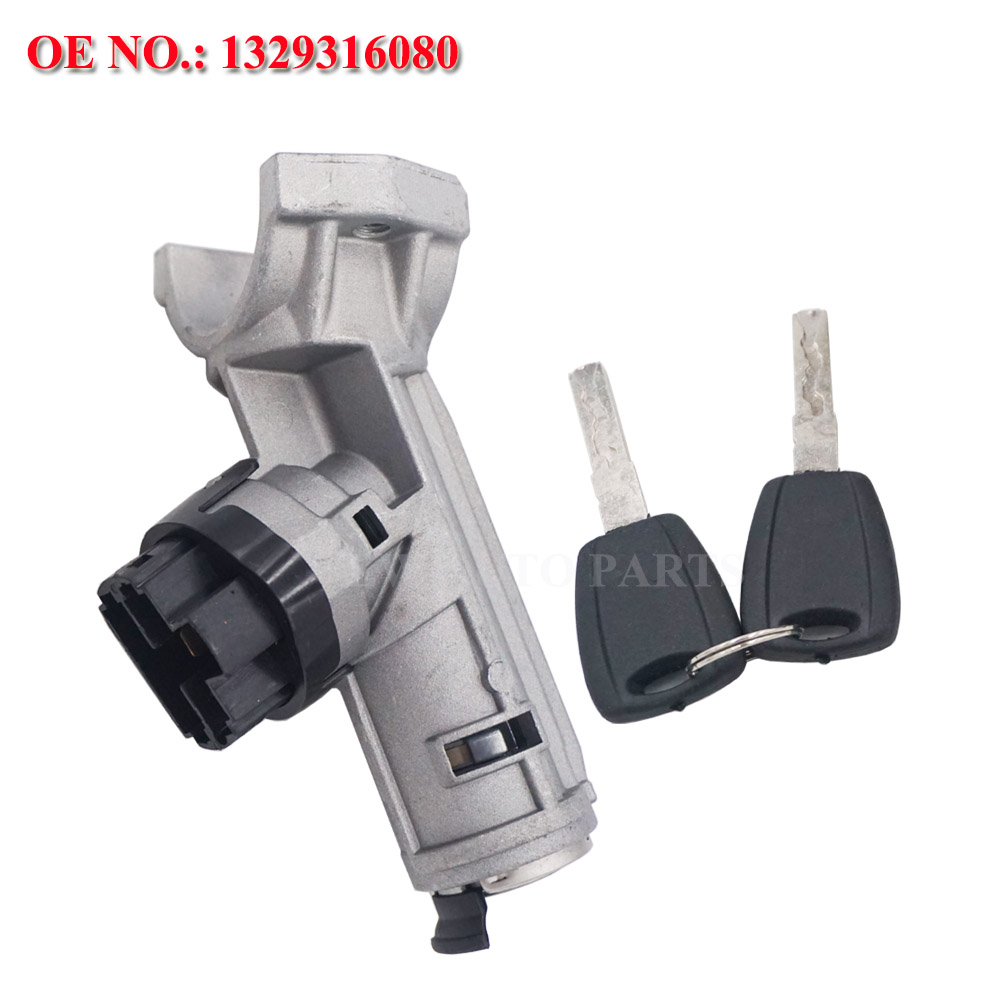 For Peugeot Boxer Citroen Ignition Barrel Lock Switch /& Keys 5 Pins 1348421080