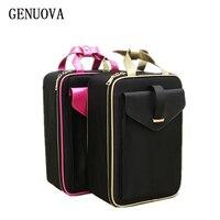 Travel Fashion Waterproof Cosmetic Case Big Capacity Portable Ladies Professional Makeup Neceser Organizer Storage Bag Suitcases