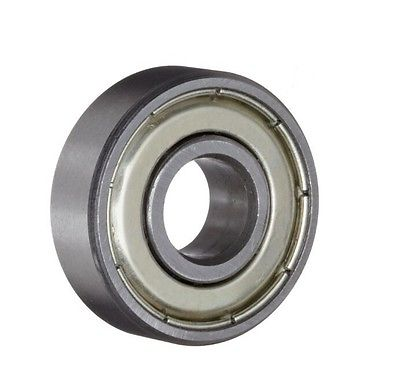 Miniature Ball Bearings Single Shielded Deep Groove 608Z Stainless Steel 2 Pcs bearing 10pcs 5x10x4mm metal sealed shielded deep groove ball bearing mr105zz