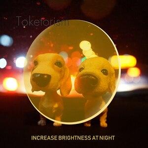 Image 3 - Toketorism Recept Zonnebril Gele Lenzen Nachtzicht Voor Mannen Vrouwen Gekleurde Lenzen Voor Ogen YS001