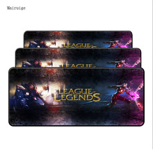Mairuige League of Legends large Lock Edge gaming Rubber mouse pad non-slip laptop table mat for LOL Surprise CSGO Free Shipping