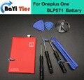 100% blp571 oneplus one bateria de alta qualidade 3100 mah li-ion substituição da bateria para oneplus one smartphone + número da faixa