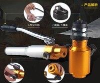 Manual de abertura do furo hidráulico universal aço inoxidável 6 t placa de metal placa de aço macio perfurador dispositivo perfuração ferramentas