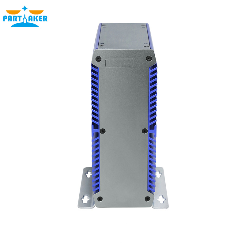 Mini Fanless PC Computer Intel 3865U Dual Core 2 Lan Port DDR4 Mini PC Embedded SIM Slot Support WiFi/3G/4G