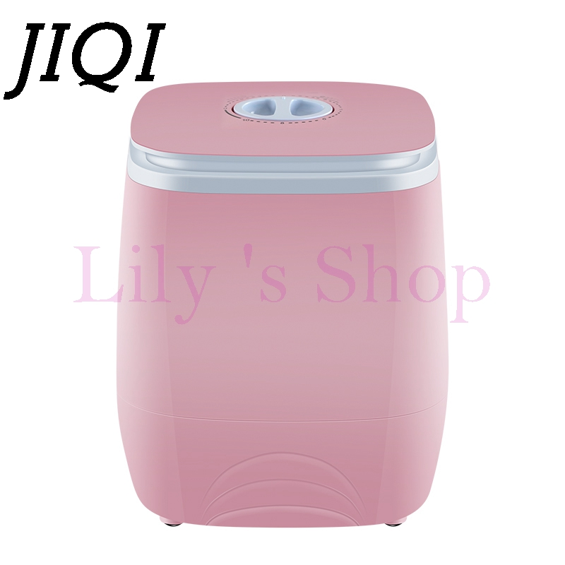 Electric mini clothes washing machine top loading semi-automatic 2.0kg garment washer+1.5kg dryer single tub drying 150W EU US 1072290