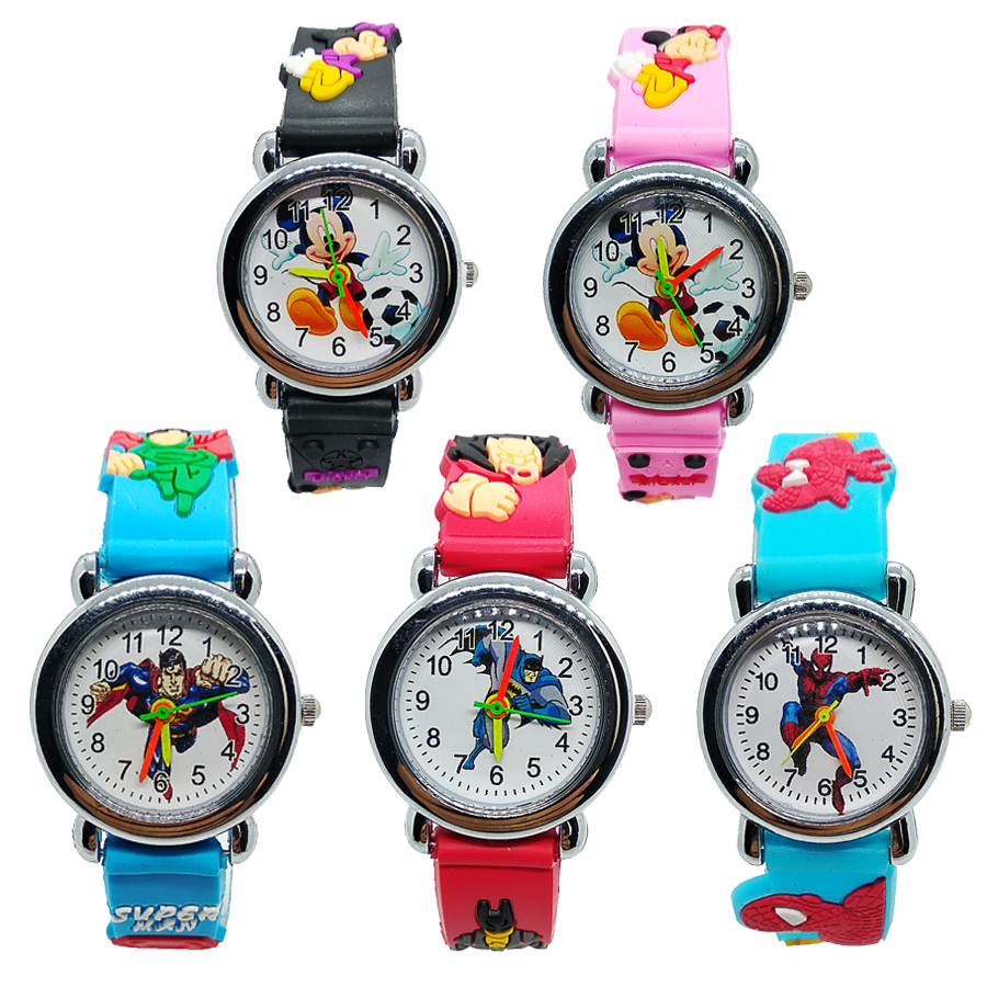 Super Cheap Promotion ! Good Quality Kids Watches Spiderman Children Watch Quartz Wristwatches For Baby Girl Boy Kid Clock Gift