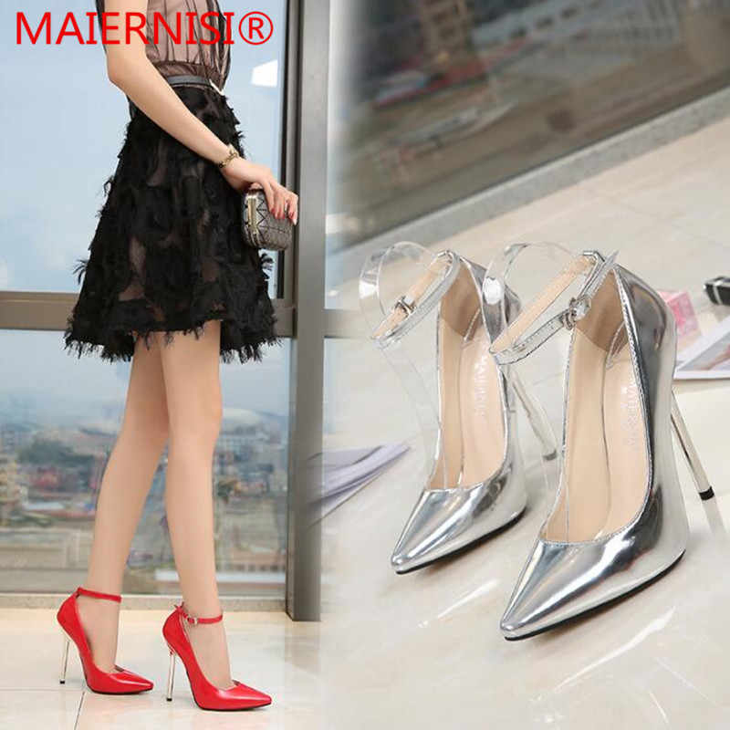 856d71b7896 Women Pumps High Heels Shoes 13 CM Pointed Toe Woman Shoes Sexy Party Shoes  Nude Heels