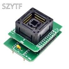 Top Qualität Chip programmierer PLCC44 adapter buchse PLCC44 zu DIP40 120 0444 306